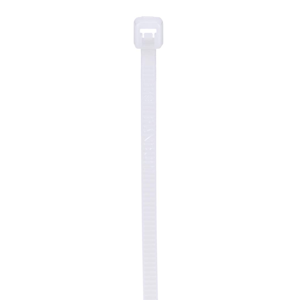 "Mayer-Panduit PLT1M-C Locking Cable Tie, Nylon 6.6, 3.9""-1"