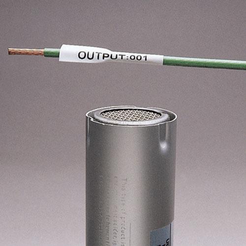 Panduit H100X025H1C 1 x 0.25 Inch 22 to 18 AWG White Polyolefin Heat Shrink Label