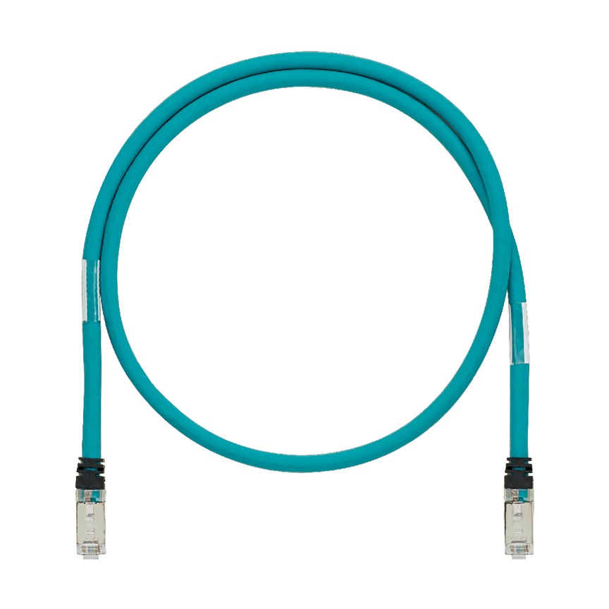 Mayer-Industrial Cat 5e Shielded 600 V Patch Cord, 2m-1