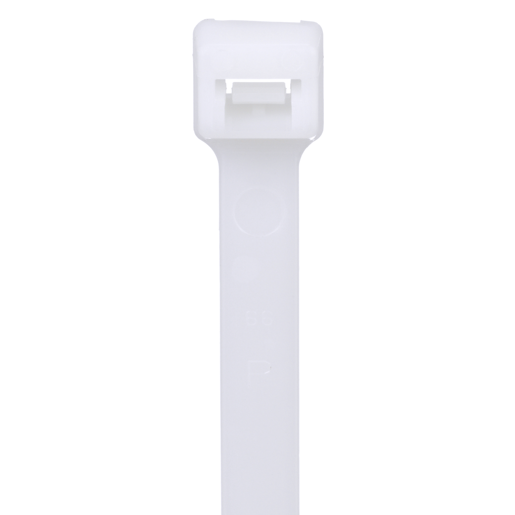 "Mayer-Panduit PLT8LH-C Locking Cable Tie, Nylon 6.6, 27.6""-1"