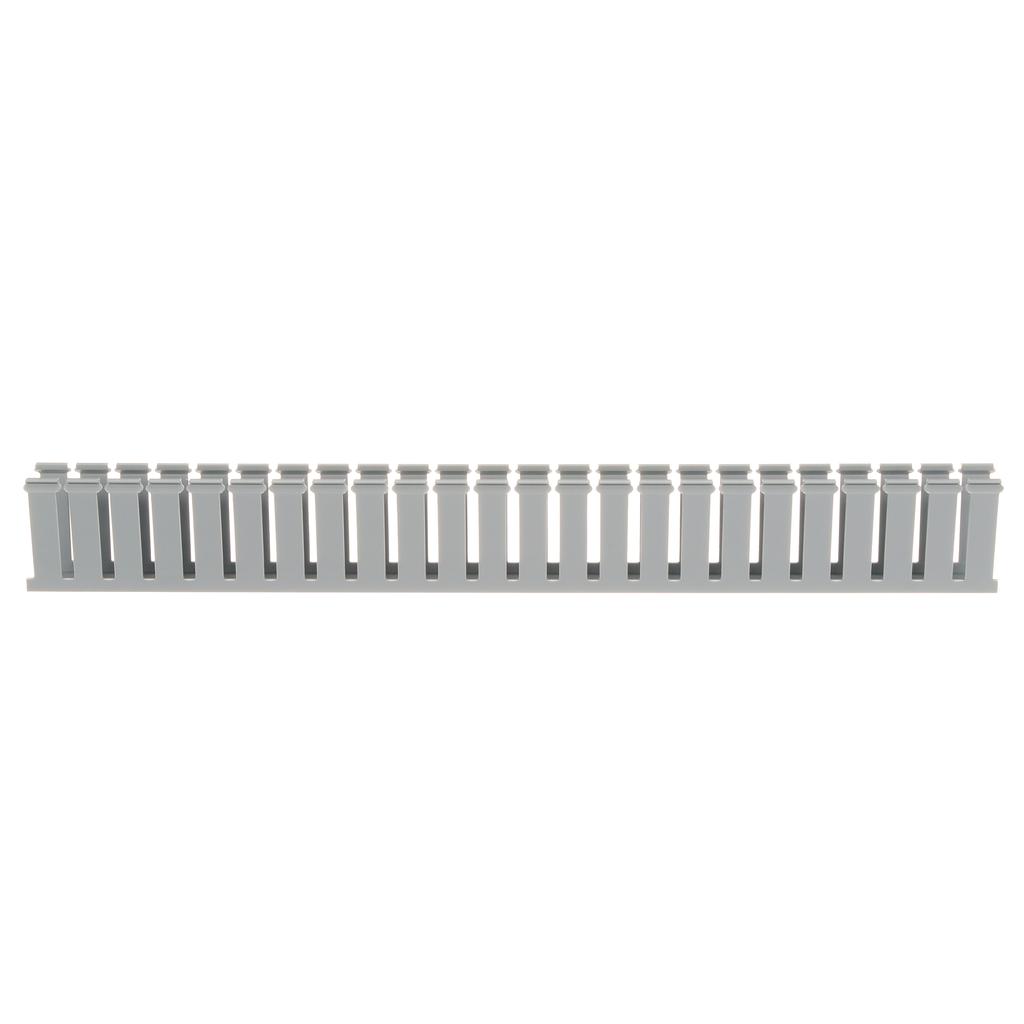 Panduit G1X3LG6 1 x 3 Inch x 6 Foot Light Gray PVC Slotted Duct