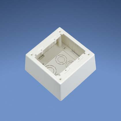Mayer-Junction Box,Power,EI,2-gang,Deep,EA-1