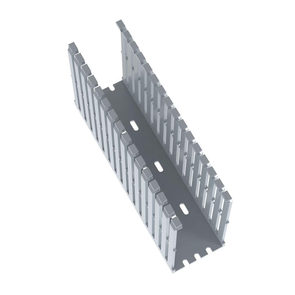 Mayer-Panduit F2X5LG6 Narrow Slot Wiring Duct,No cover-1