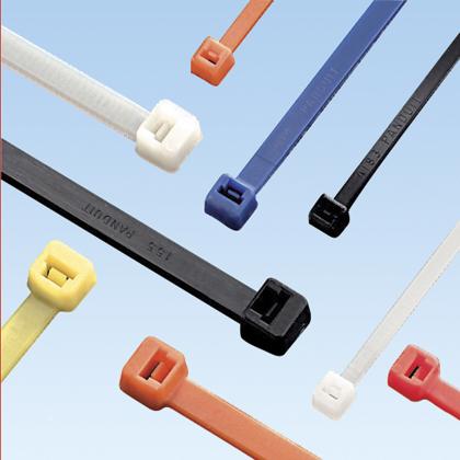 "Mayer-Panduit PLT2S-M2 Locking Cable Tie, Nylon 6.6, 7.4""-1"