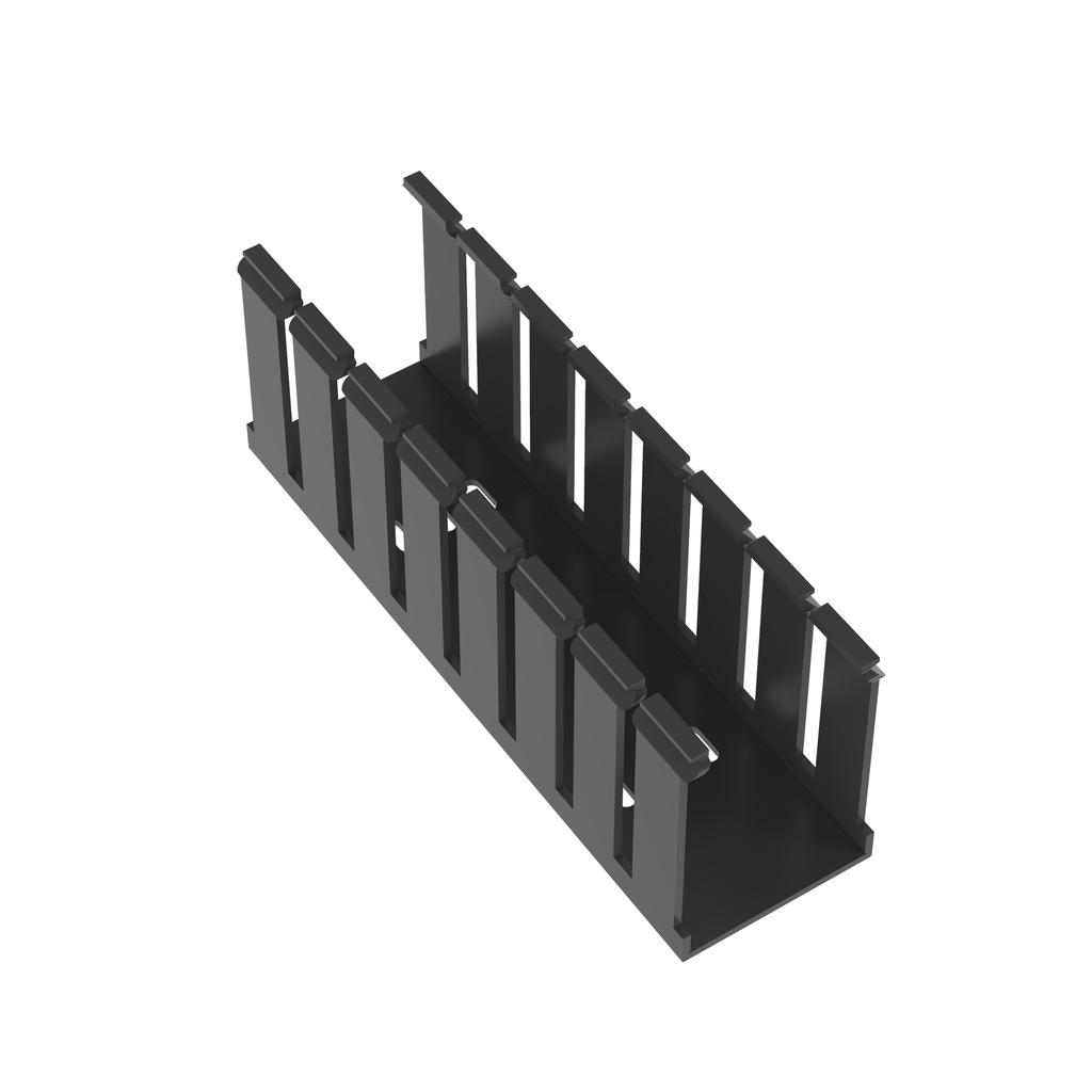 Mayer-Panduit G2X3BL6 Wide Slot Wiring Duct, No Cover-1