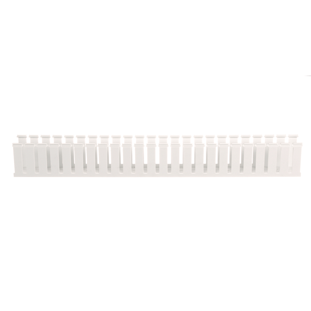 Mayer-Panduit G2X3WH6 Wide Slot Wiring Duct, No Cover-1