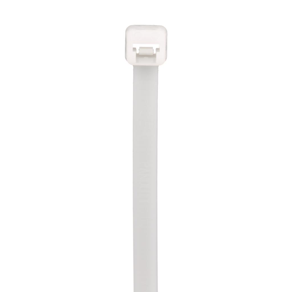 "Mayer-Panduit PLT2S-M Locking Cable Tie, Nylon 6.6, 7.4""-1"