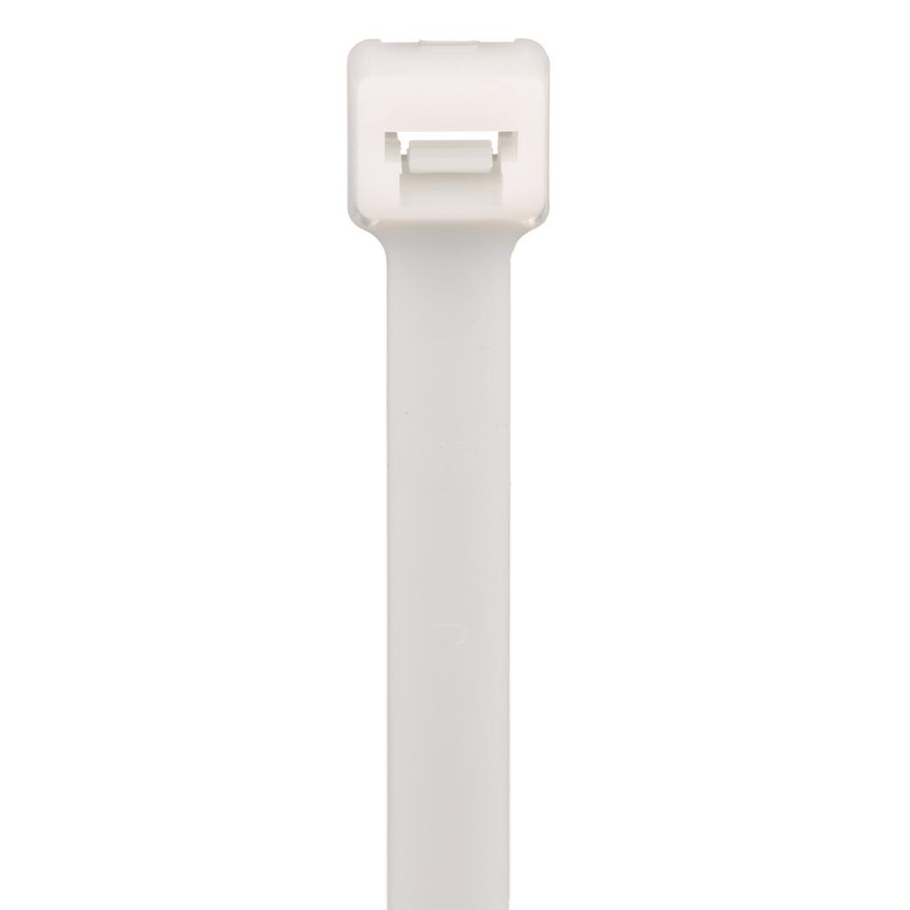 "Mayer-Panduit PLT4H-TL Locking Cable Tie, Nylon 6.6, 14.5""-1"