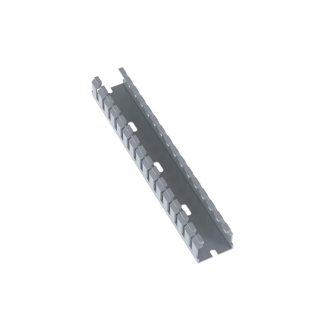 Mayer-Panduit F1X1LG6 Narrow Slot Wiring Duct,No cover-1