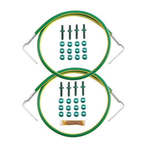 """Jumper Kits,Front-Back,Two #6 AWG,30"""",EA"""