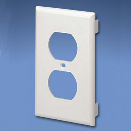 Faceplate,Comm.only,106Duplex,IW,EA