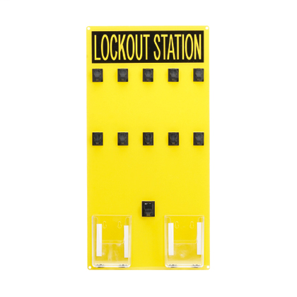 LOCKOUT STATION (SIGN ONLY),10 PERSON,EA