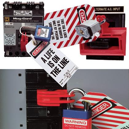 Panduit PSL-CB Universal Circuit Breaker Lockout