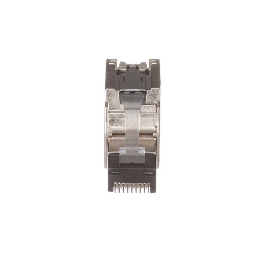 RJ45, Cat 6A Shielded Field Term Plug, 22-26 AWG