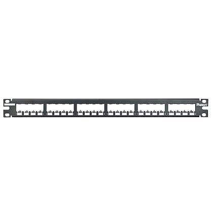 Mayer-Mini-Com® 24-Port Patch Panels, Metal, Shielded-1