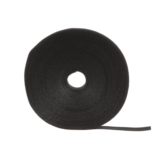 Mayer-Tak-Ty® Hook and Loop Cable Strip Tie, Black-1