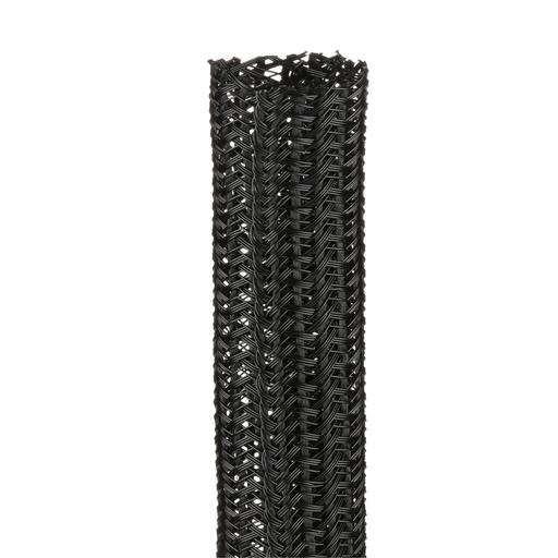 "Panduit SE100PS-CR0 Braided Sleeving,Black,1""x100'"