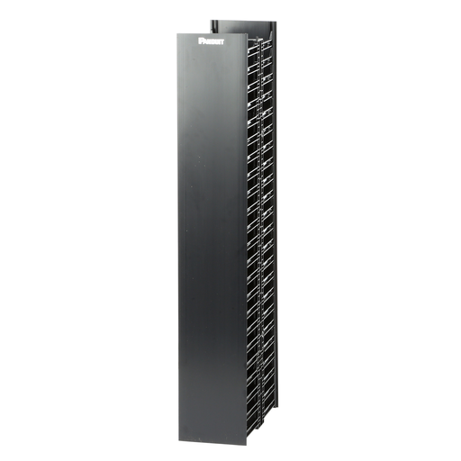 Mayer-NetRunner™ Vertical Cable Manager, 45 RU, Black-1