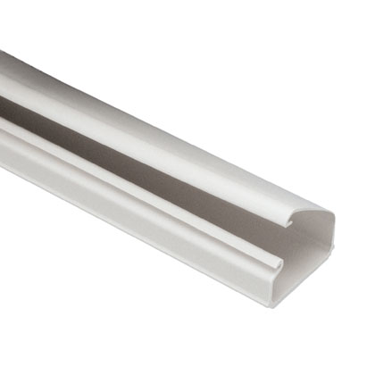 Mayer-LD10 Surface Raceway Channel, 6 ft, Off White-1