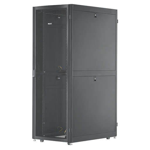 Net-Verse™ D-Type Cabinet, 42 RU, Black