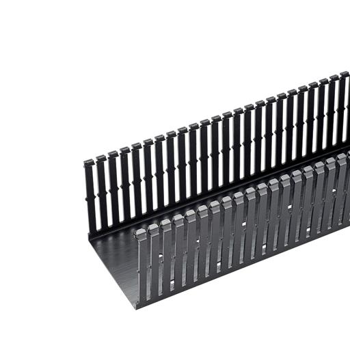 NAR Slot Duct,PVC,1x2x6',BL,6ft
