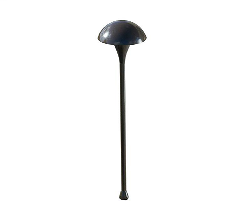 HAD MUL4-HS7  QS BRONZE SMALL MUSHROOM PATHLYTE WITH 20W 12V G4 BIPIN HAL AND STAKE