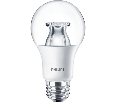 PHILIPS LAMPS 10A19/LED/827-22/CL/DIM 120V