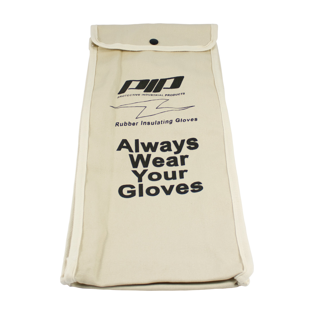 PIP 148-6018 NOVAX, CANVAS BAG FOR18 IN. ELECTRICAL RATED GLOVE,NATURAL LIKELY SUBJECT TO TAX
