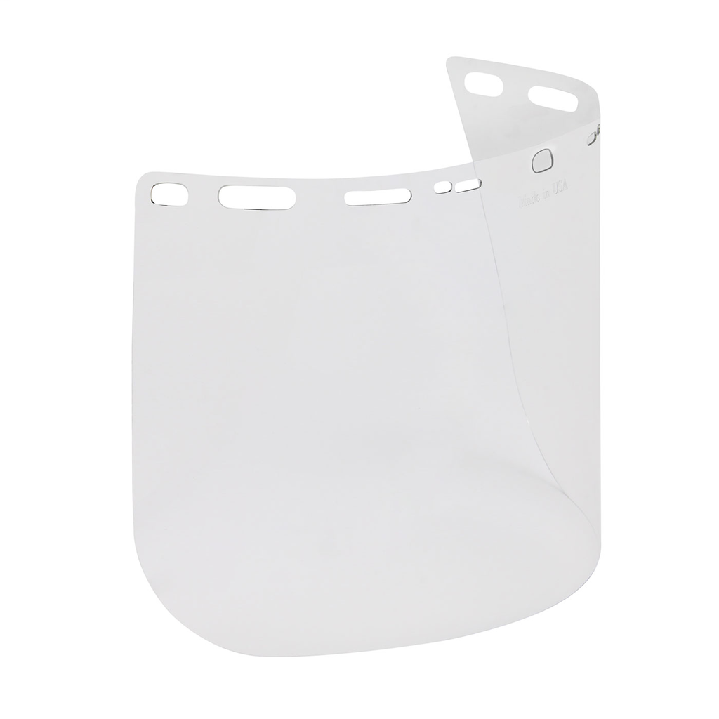 PIP 251-01-5211 8 x 15.5 x 0.04 Inch Clear Lens PETG Flat Universal Face Protection Safety Visor