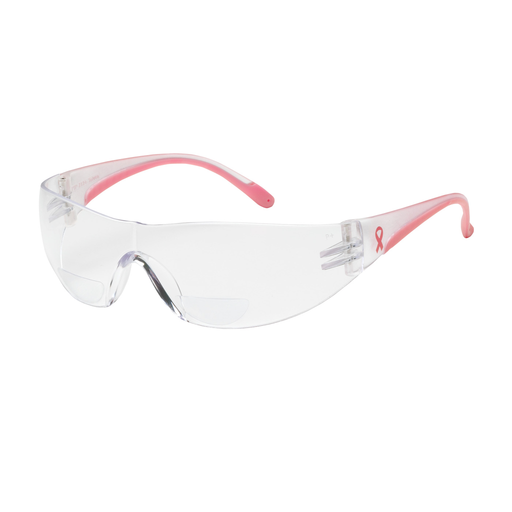 PIP 250-12-0100 LADY EVA READER,CLR AS LENS, PINK TMPLS, +1.00LIKELY SUBJECT TO TAX
