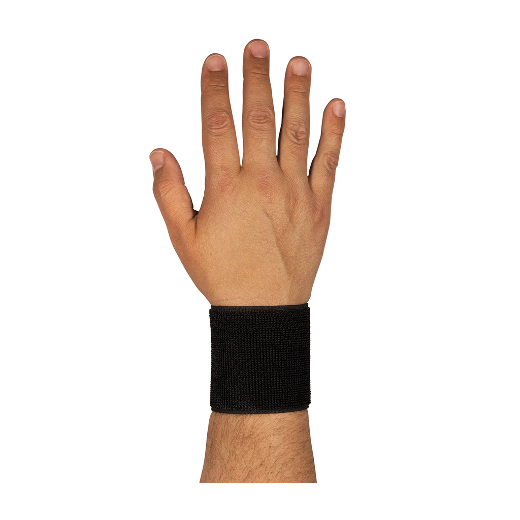 PIP 290-9010BLK WRIST SUPPORT,BLACK, OSFM, ELASTIC FABRIC W/ HOOKAND LOOP CLOSURE LIKELY SUBJECT TOTAX