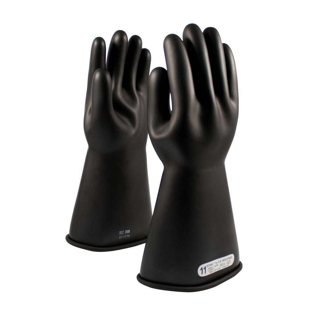 PIP 150-1-14/7 NOVAX INSULATINGGLOVE, CLASS 1, 14 IN., BLK.,STRAIGHT CUFF LIKELY SUBJECT TO TAX