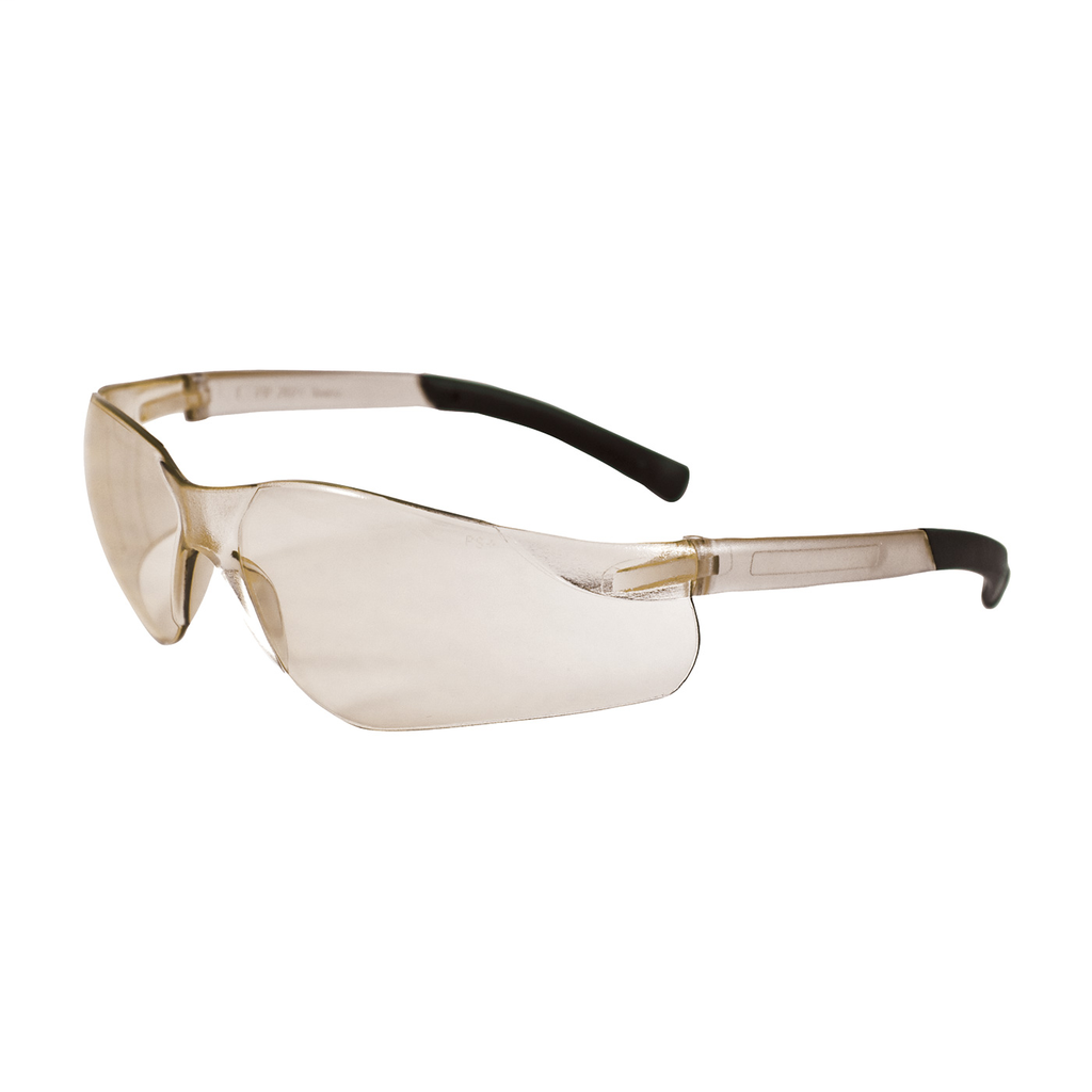 PIP 250-06-0002 Clear Frame In/Outdoor Lens Anti-Scratch Coated Universal Safety Glasses
