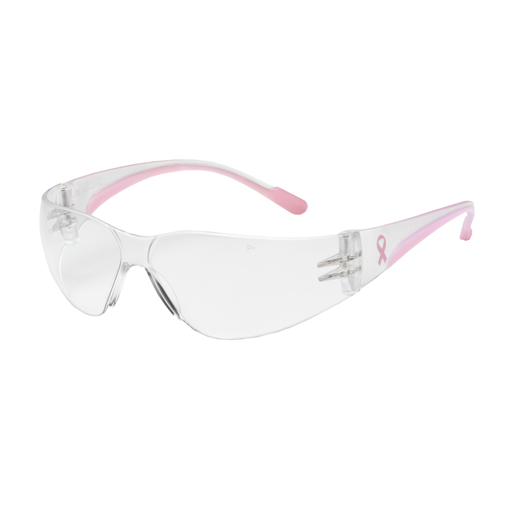 PIP 250-11-0900 EVA PETITE ,CLR AS,CLR/PINK TMPLS, RUBBER TMPL END,MOLDED BRIDGE LIKELY SUBJECT TO TAX