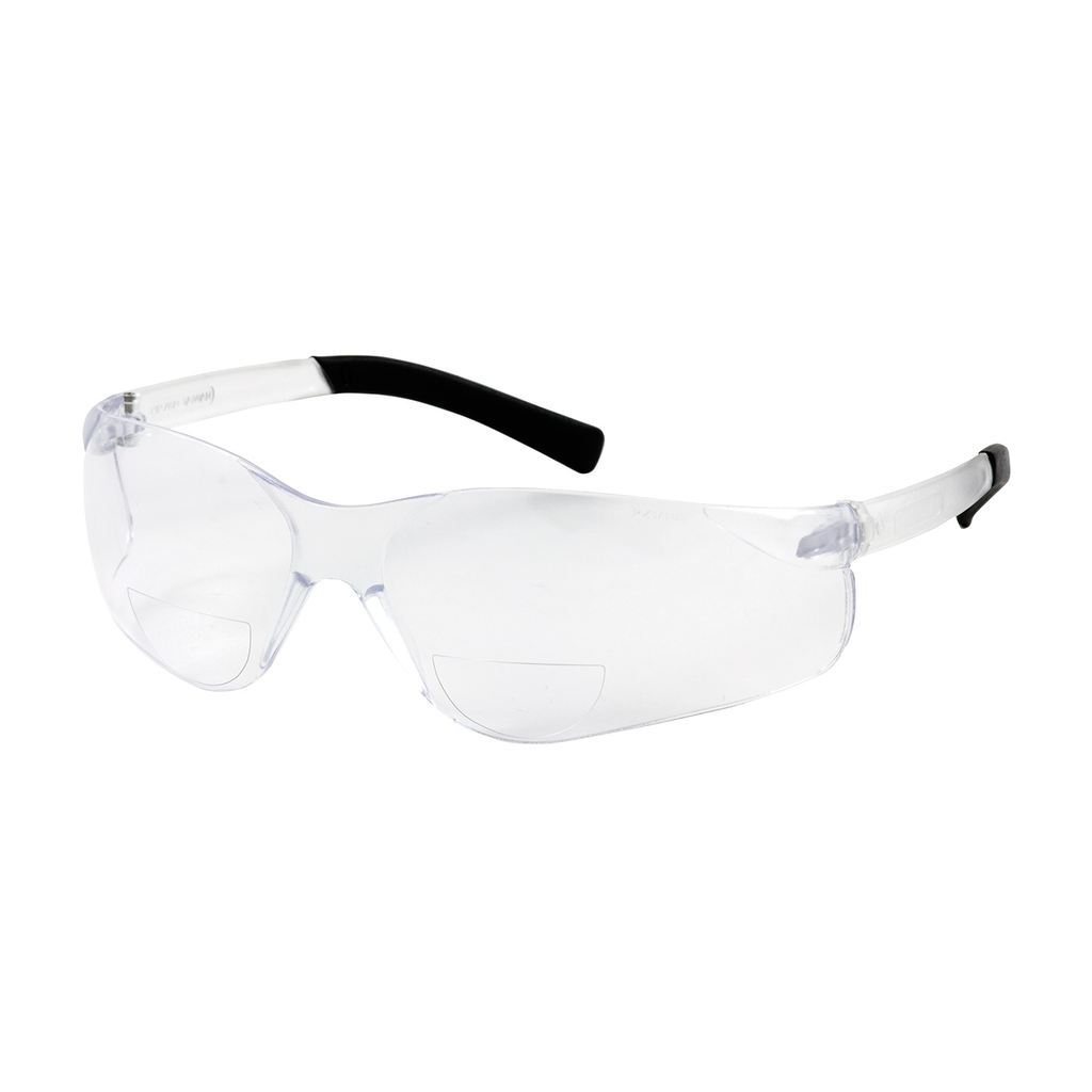 PIP 250-26-0020 Clear Frame/Lens Anti-Scratch Coated Universal Safety Glasses