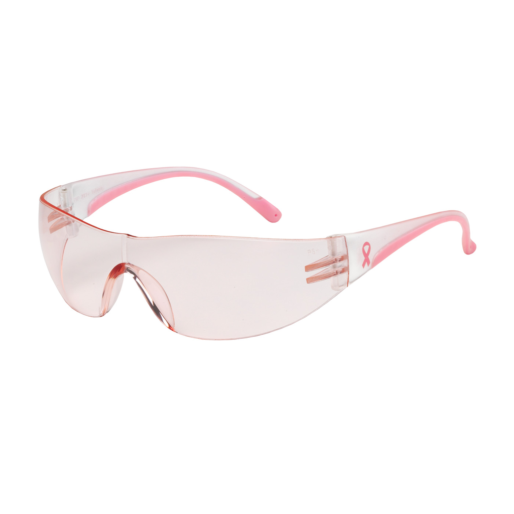 PIP 250-10-0904 EVA, PINK AS LENS,CLR/PINK TMPLS, RUBBER TMPL END,MOLDED BRIDGE LIKELY SUBJECT TO TAX