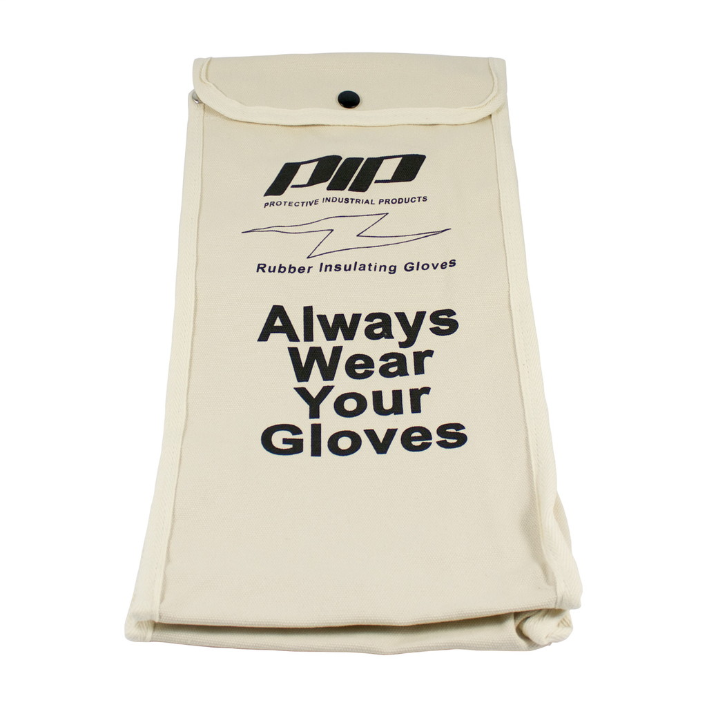 PIP 148-6016 NOVAX, CANVAS BAG FOR16 IN. ELECTRICAL RATED GLOVE,NATURAL LIKELY SUBJECT TO TAX