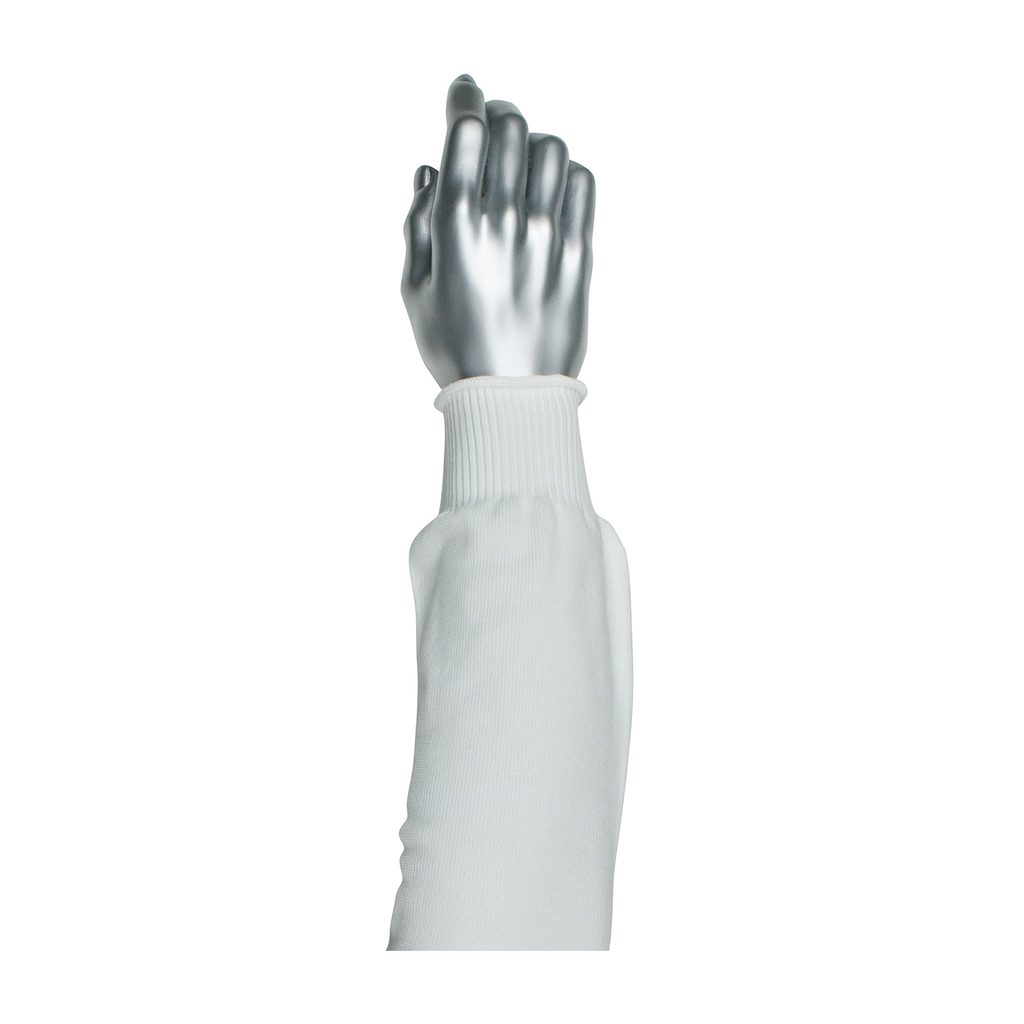 PIP 15-220WS PRITEX SLEEVE,20-INCH, WHITE, NARROW WIDTH,ELASTIC CUFF LIKELY SUBJECT TO TAX
