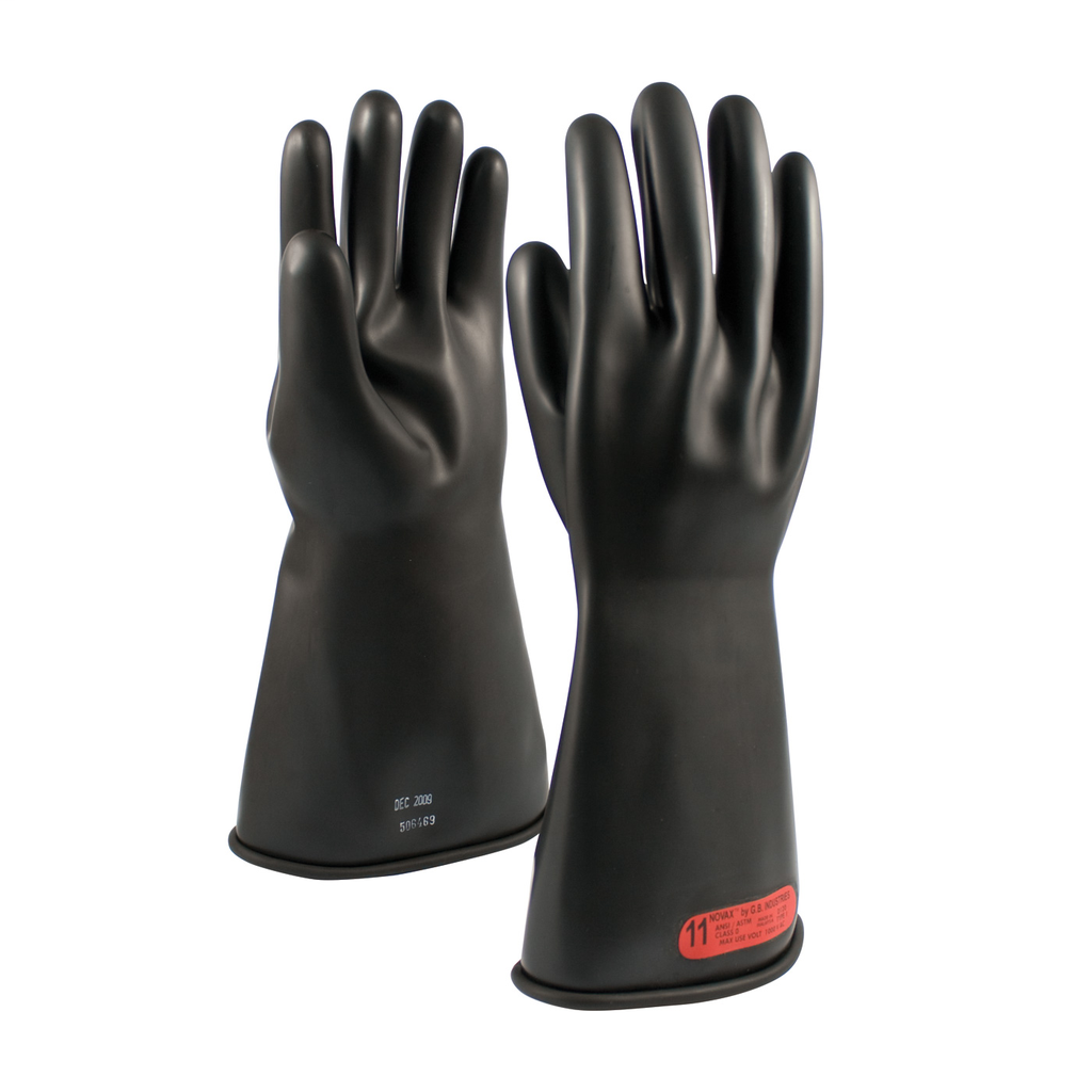 PIP 150-0-14/10 NOVAX INSULATINGGLOVE, CLASS 0, 14 IN., BLK.,STRAIGHT CUFF LIKELY SUBJECT TO TAX