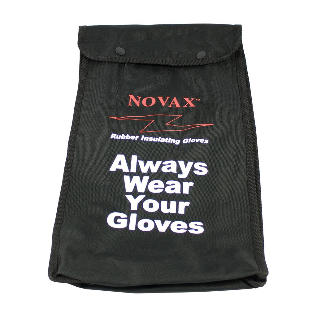 PIP 148-2142 14 Inch Black Nylon Gloves Storage Bag