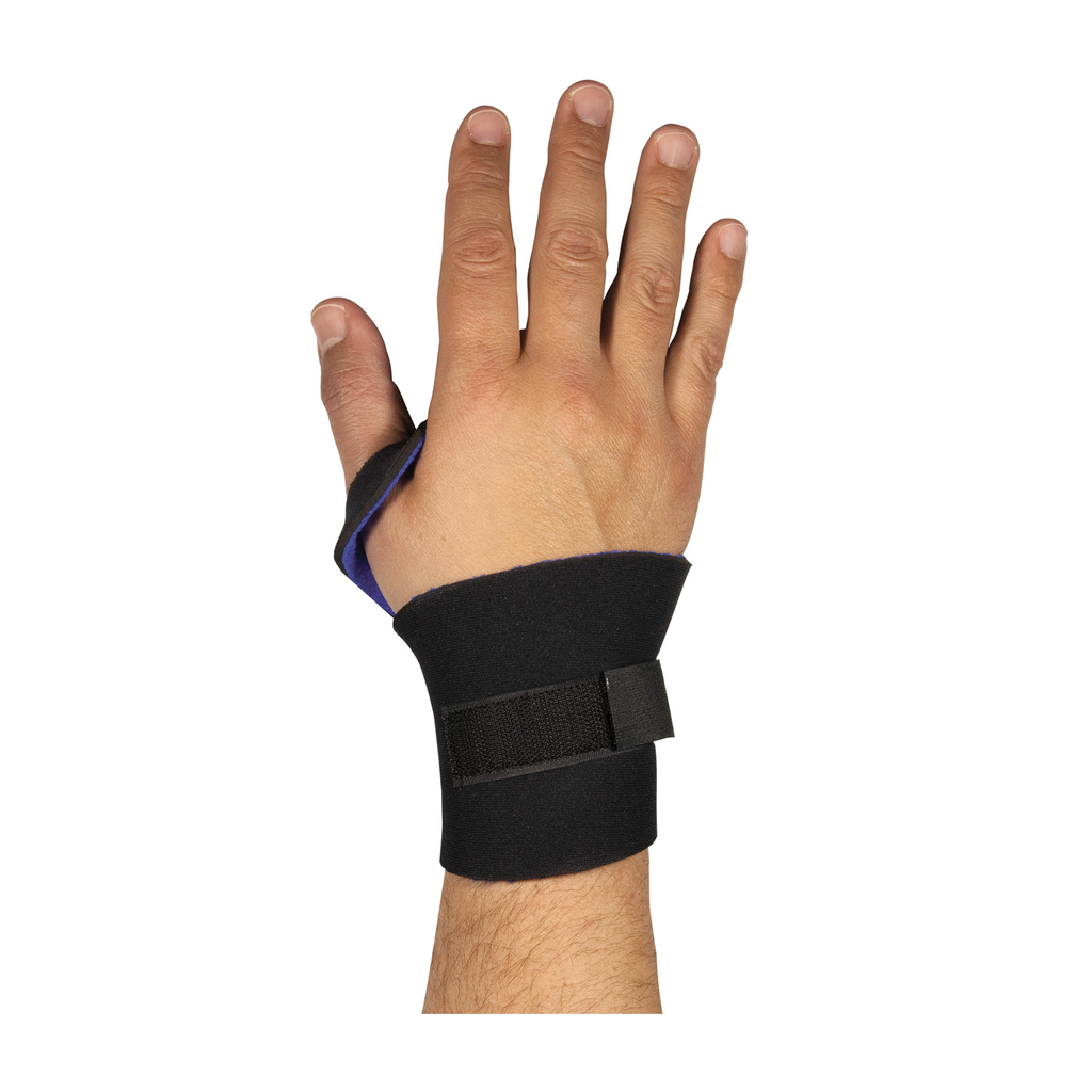 PIP 290-9015 WRIST SUPPORT, LIGHTNEOPRENE WITH PUNCHED THUMB LOOP,OSFM, BLACK LIKELY SUBJECT TO TAX