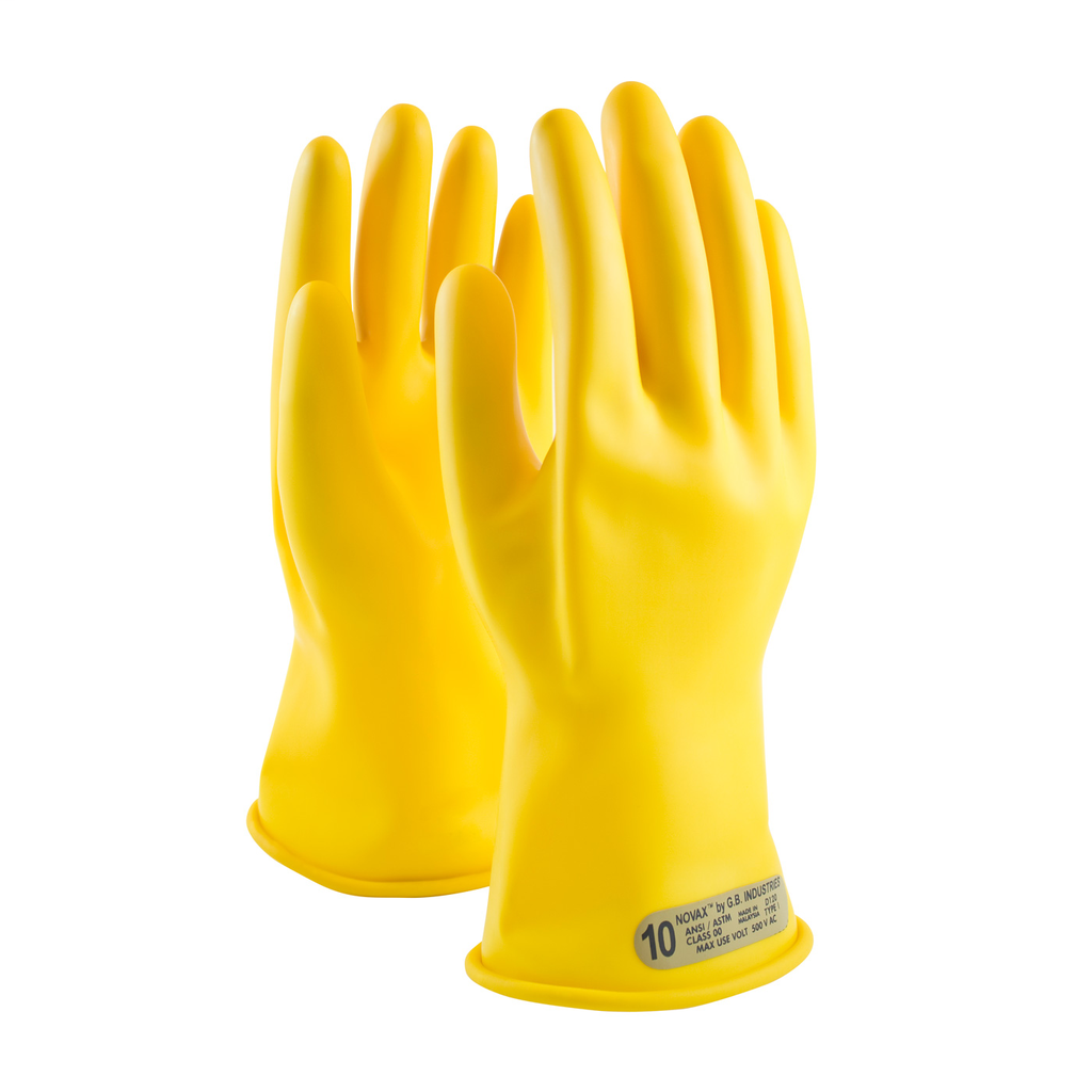 PIP 170-00-11/7 NOVAX INSULATINGGLOVE, CLASS 00, 11 IN., YLW.,STRAIGHT CUFF LIKELY SUBJECT TO TAX