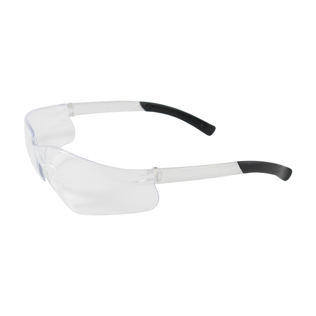 PIP 250-06-0000 Clear Frame/Lens Anti-Scratch Coated Universal Safety Glasses