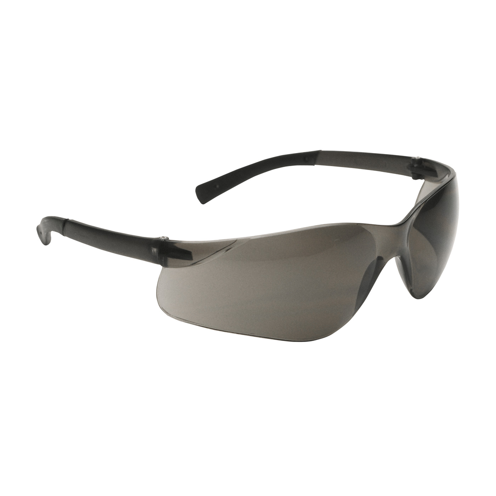 PIP 250-06-5501 Dark Gray Frame Gray Lens Anti-Scratch Coated Universal Safety Glasses