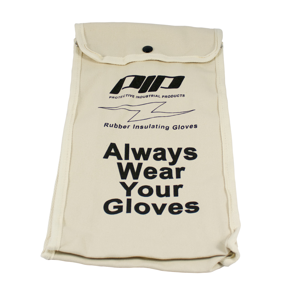 PIP 148-6014 14 Inch Natural Canvas Gloves Storage Bag