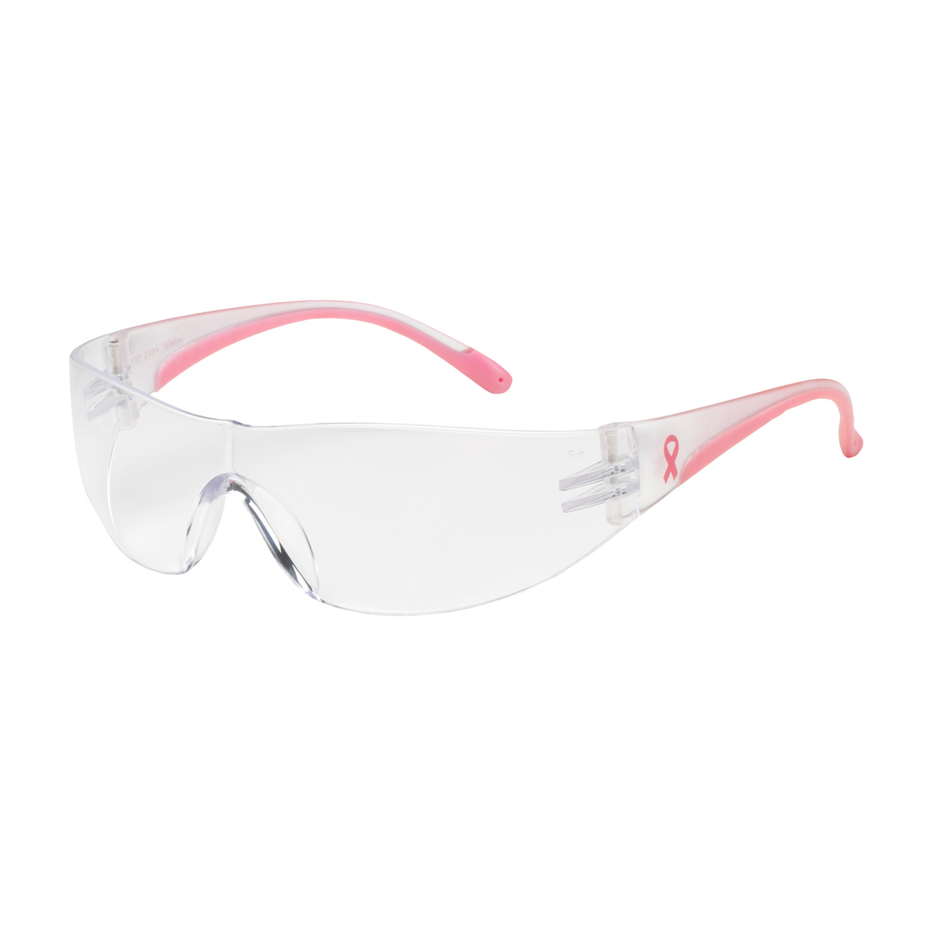 PIP 250-10-0920 EVA, CLR AF LENS,CLR/PINK TMPLS, RUBBER TMPL END,MOLDED BRIDGE LIKELY SUBJECT TO TAX
