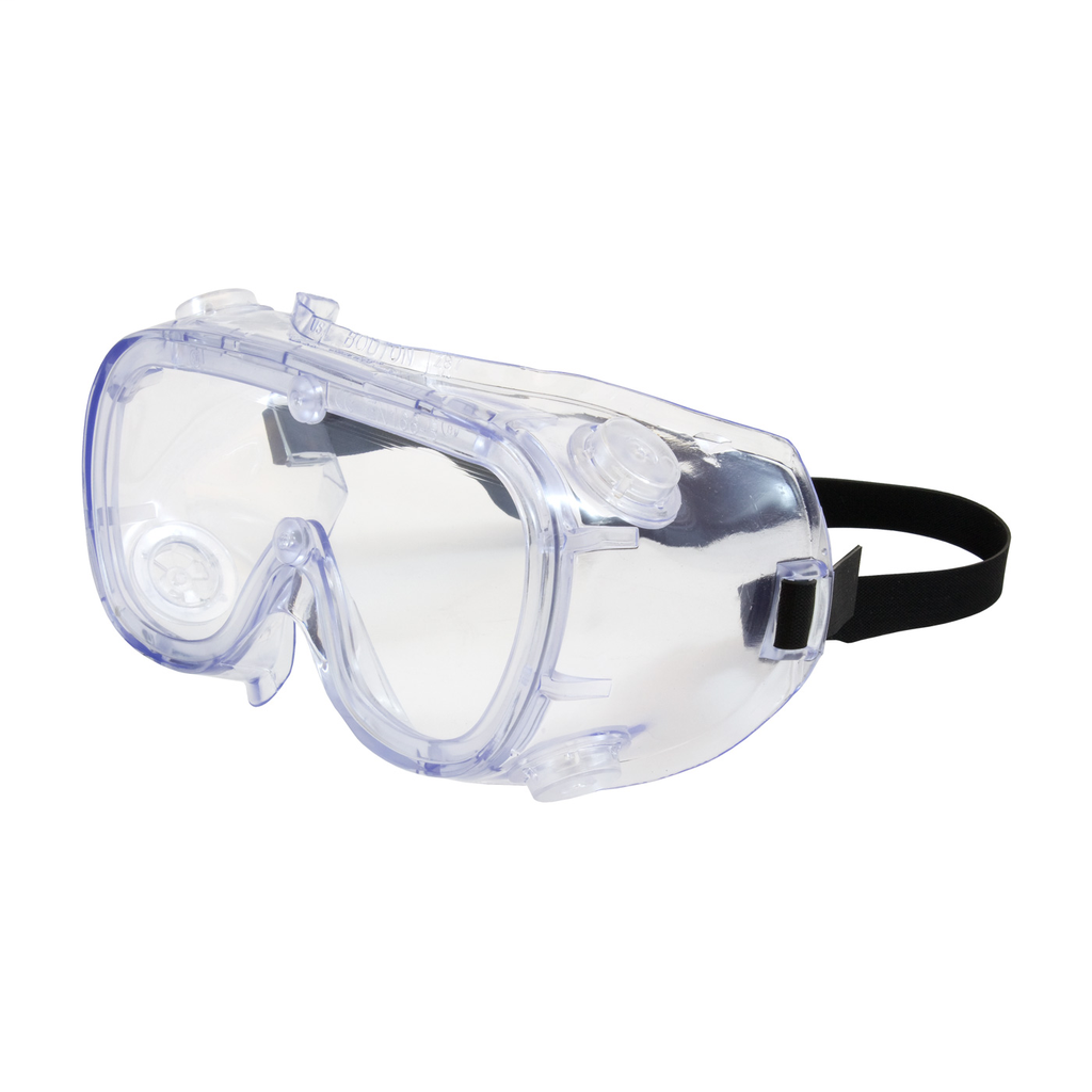 PIP 248-5190-400B 551 SOFTSIDESGOGGLE, IV, CLR LENS, CLEAR BL FRM,ELASTIC STRAP, AS/AF LIKELY SUBJECTTO TAX