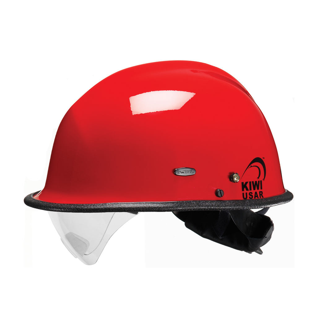 PIP 804-3406 PACIFIC R3V4 KIWI USARW/EYE VISOR, RED, 3-PT NOMEX CS,NFPA 1951 LIKELY SUBJECT TO TAX