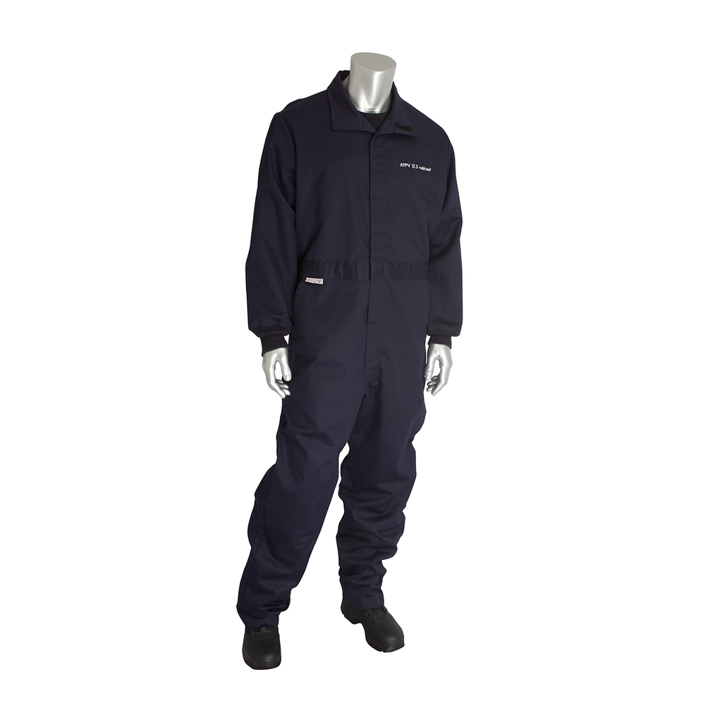 PIP 9100-2170D/S 12 CAL FR DUALCERT. 9OZ. COVERALL, NFPA 70E &NFPA 2112, NVY LIKELY SUBJECT TOTAX