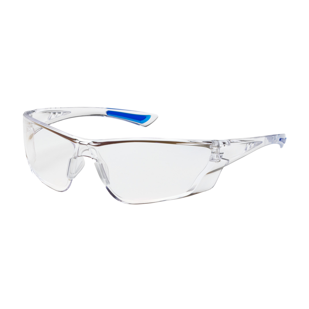 PIP 250-32-0020 Clear Frame/Lens Anti-Scratch/Anti-Fog Coated Universal Safety Glasses